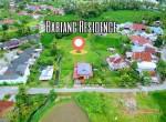 foto drone lokasi bariang